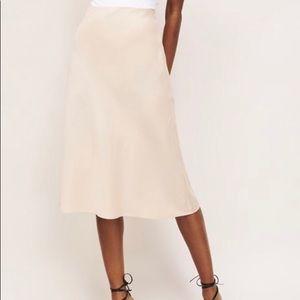 Dynamite Satin Skirt, NWT